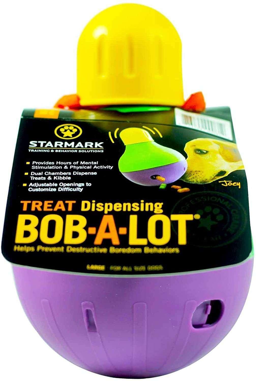 StarMark interactive bobbing dog toy