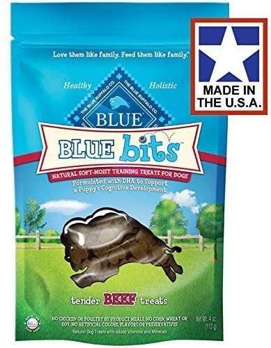 dog training treats by Blue Buffalo