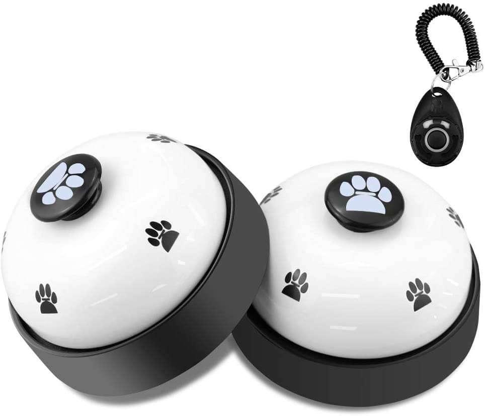potty training bells - courtesy desk style