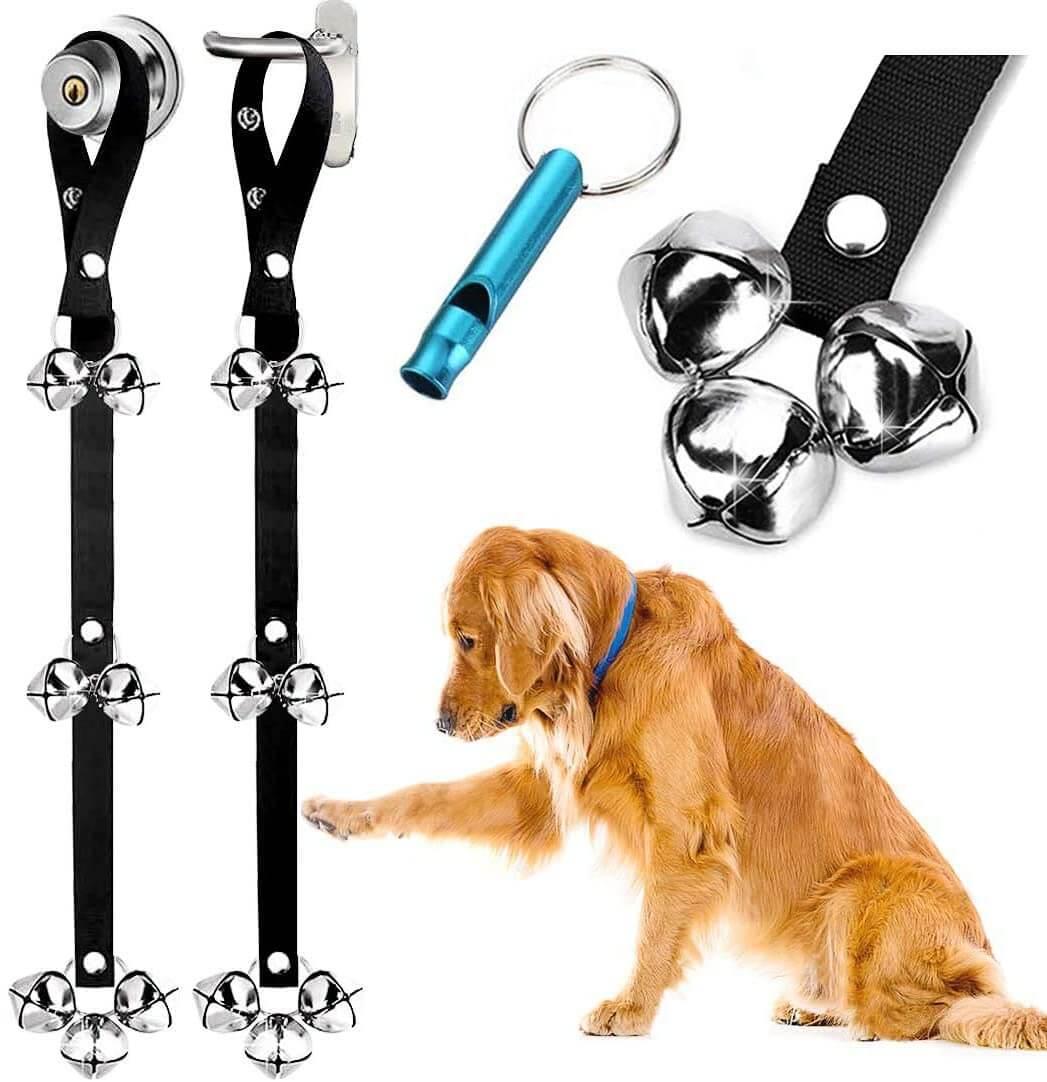 dog potty training bells - hanging style