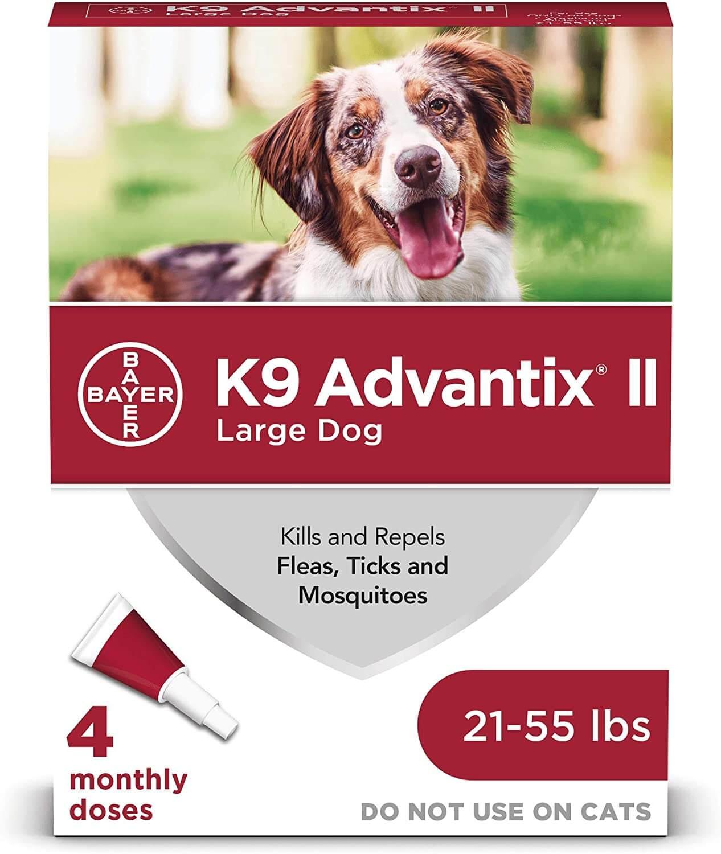 K9 Advantix flea and tick prevention