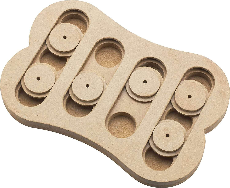 dog toy - shuffle bone puzzle