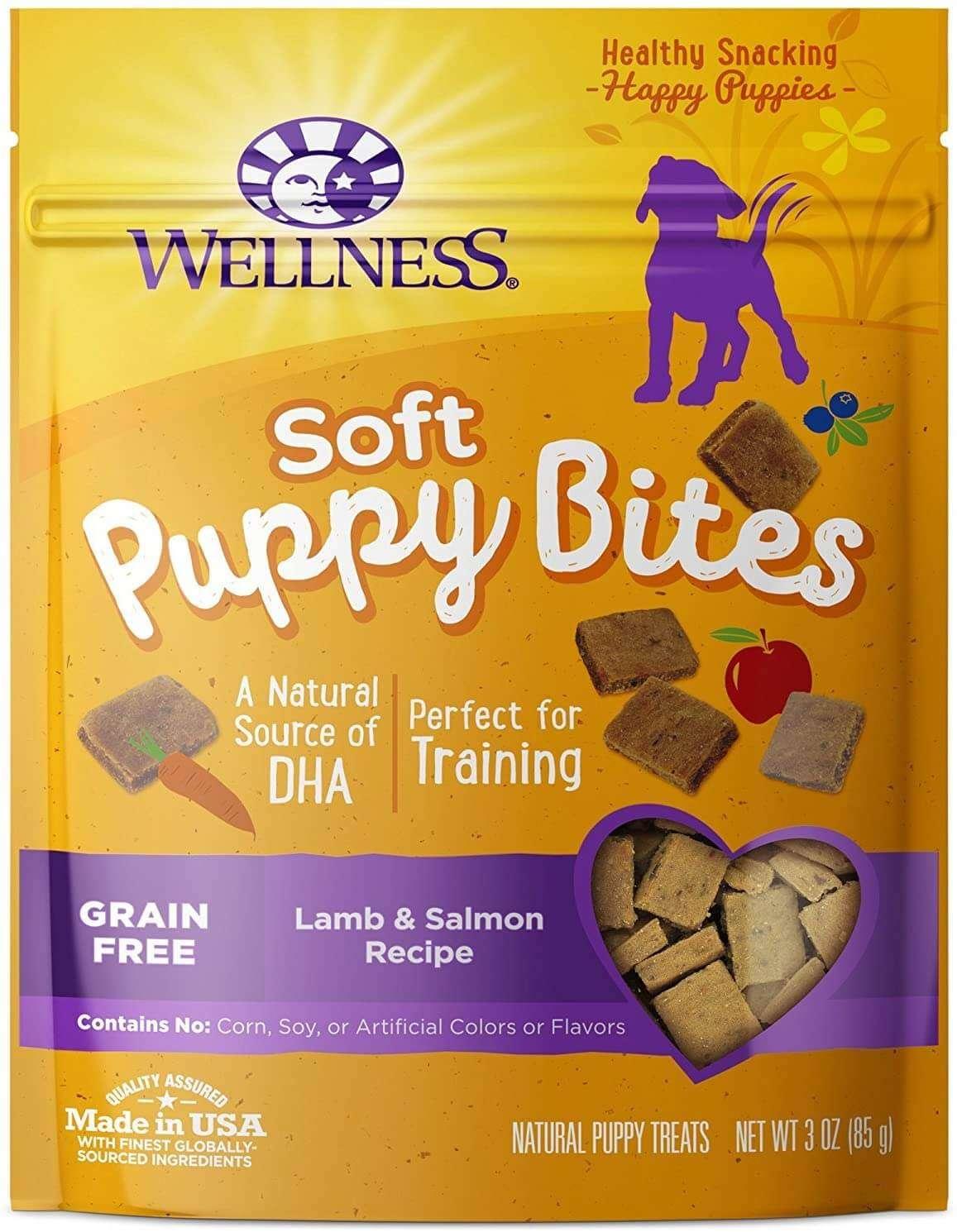 soft dog training treats by Wellness
